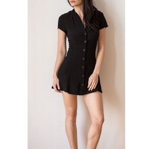 Silence and Noise Urban Outfitters button up dress